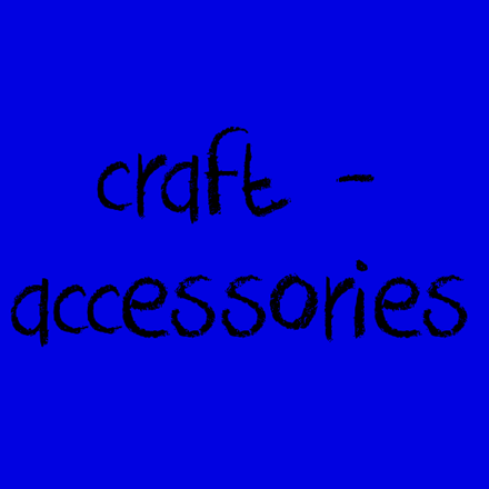Picture for category Craft - Accessories