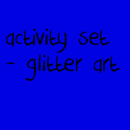 Picture for category Activity Set - Glitter Art