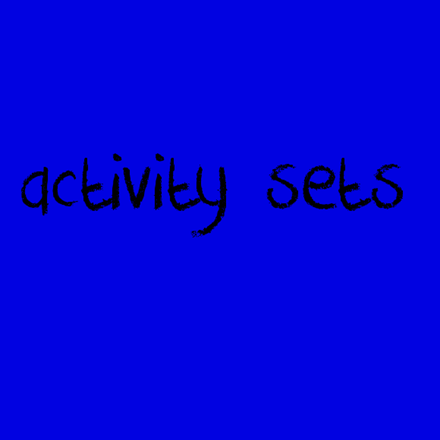 Picture for category Activity Sets
